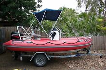 Explorer NZ Rigid Inflatable boat - 75 Mercury - hardly used Sunrise Beach Noosa Area Preview