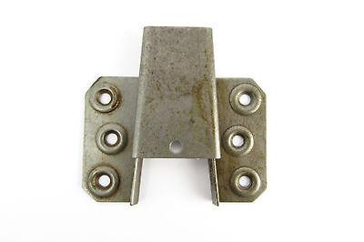 Keilbeschlag Metall oben Eisen Schrankverbinder Schrankteile Jugenstil Möbel