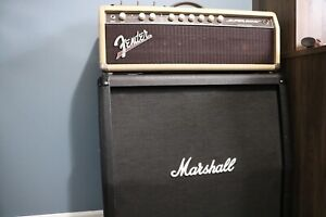 Fender Super-Sonic Amp Head w/ Marshall 410 Cabinet