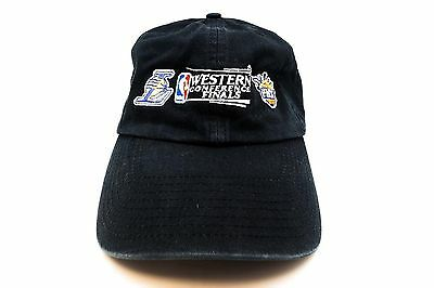 LA Los Lakers P Suns Men NBA Western 2010 Finals Buckle Strap Cap Slouch Dad Hat