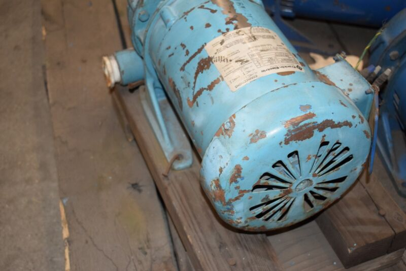 Franklin Electric 1313480103 Pump Motor 1.5 HP, 3450 RPM, 3PH, Goulds Pumps Inc