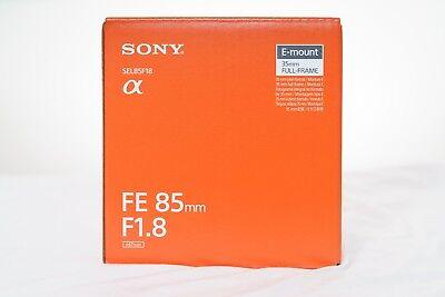 Sony digital single lens camera α [E mount] lens FE 85mm F1.8 SEL85F18 F/S ()
