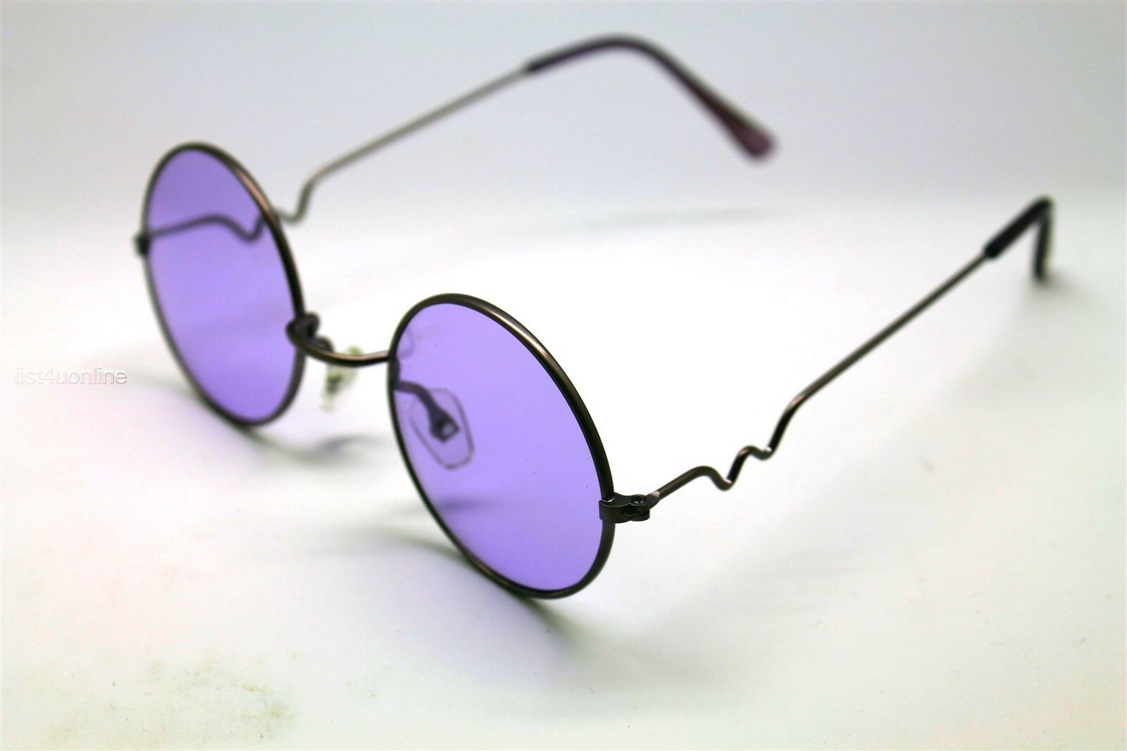 de5f995882fe You are buying one pair of New Purple Round Lens sunglasses with Purple  frames . We carry this style in 62 different lens and Frame color  Combinations.