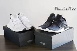 W US 7.5 | US 8 Brand New Adidas Original NMD XR1 Black and White Melbourne CBD Melbourne City Preview
