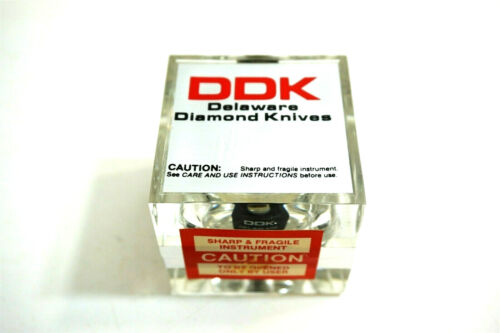 New DDK Delaware Diamond Knives No 41163 Clearance Angle Microtome Setting 4 deg