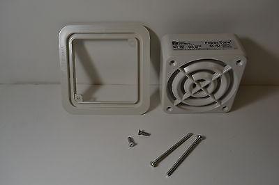 Federal Signal Aslp-24rhw Amplified Speaker White 24 Volt 82 Db 0.070 Amp