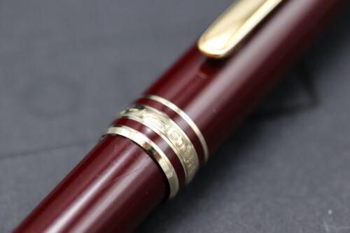 Montblanc Meisterstuck 164 Classique Bordeaux Ballpoint Pen 2