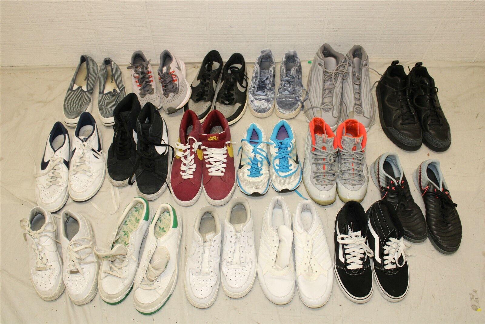 Sport Sneakers Shoes Lot Wholesale Used Rehab Resale Nike Converse HUGE Lot