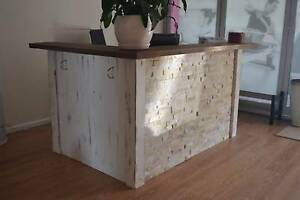Bespoke HandMade Reception Desk wood & stone St Leonards Willoughby Area Preview