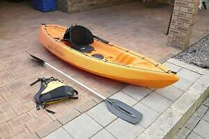 Venturer 2.7m Sit On Kayak with All Accesories Eden Hill Bassendean Area Preview