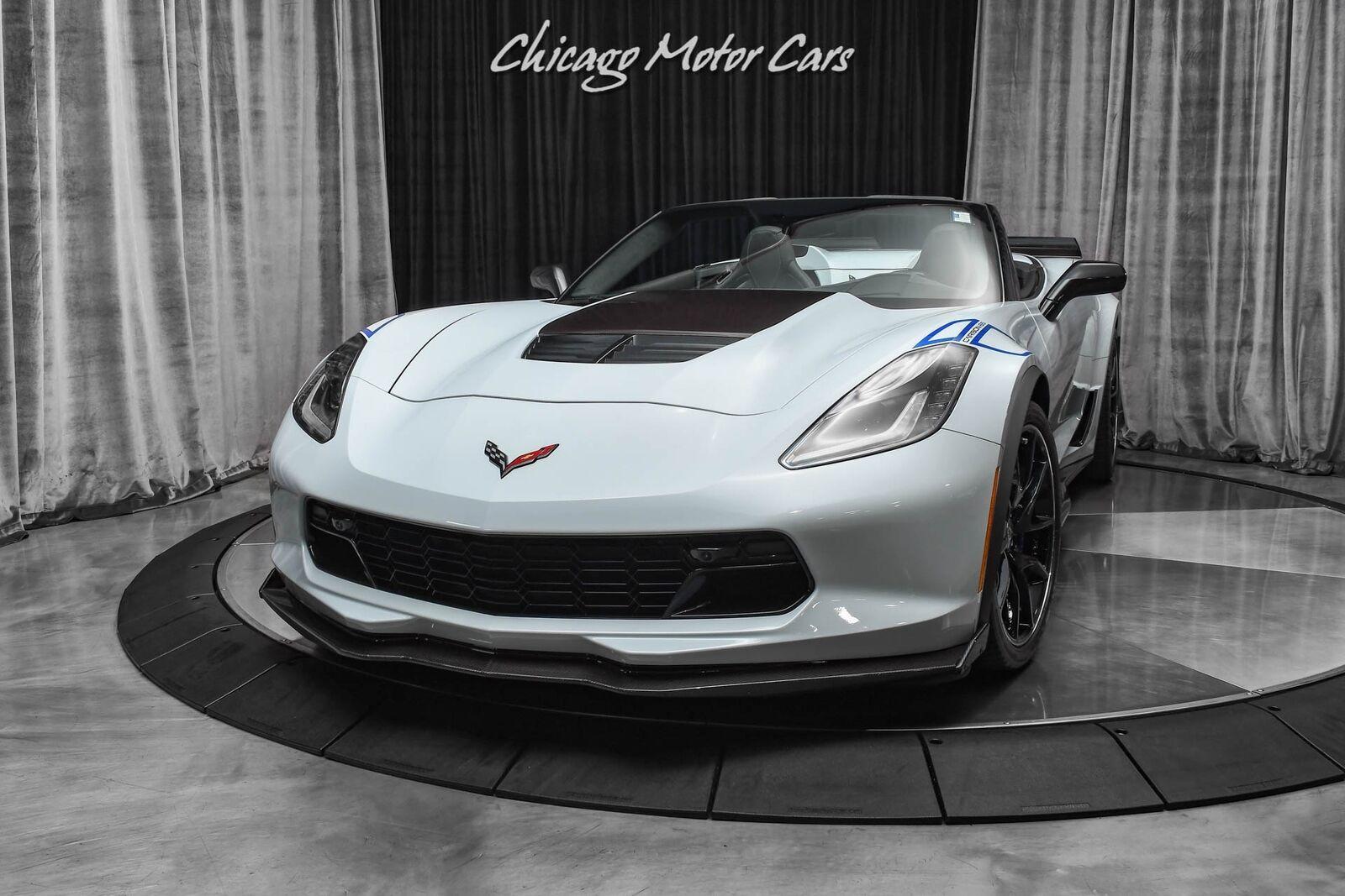 2018 White Chevrolet Corvette Z06 3LZ | C7 Corvette Photo 2