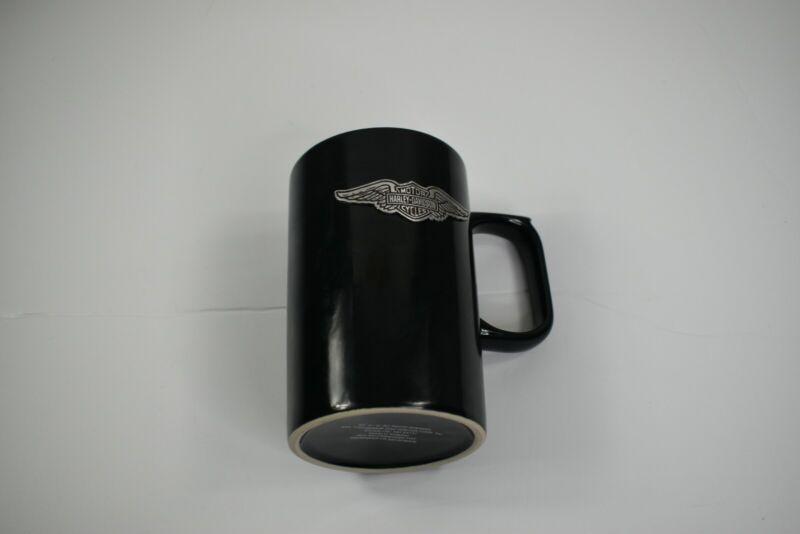 Harley Davidson Black Coffee Mug