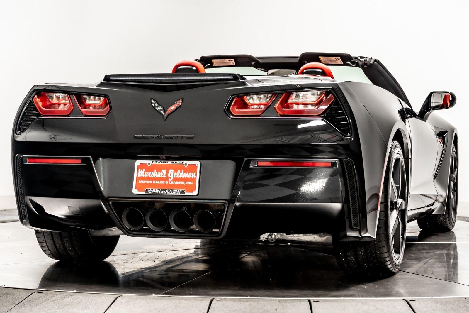 2014 Black Chevrolet Corvette Convertible 2LT   C7 Corvette Photo 8