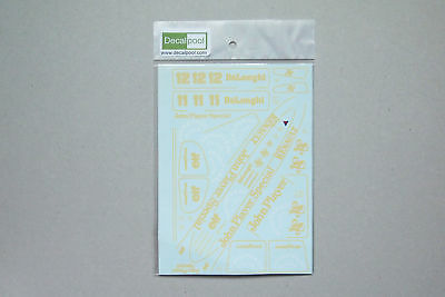 1/20 Lotus Renault 98T JPS 86' A. Senna Conversion Decal for Tamiya Honda 99T for sale  Shipping to India