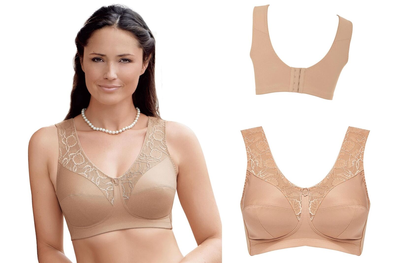 1c9fd2328 Womens Anita MicroEnergen Bras with great Support Bra Full Cup Ladies 5409  Skin Various Sizes