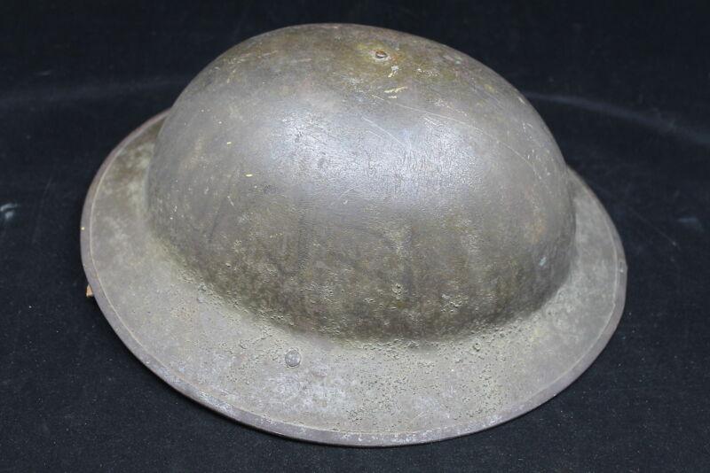 WW1 British Canadian BEF CEF Mk1 Combat Steel Helmet
