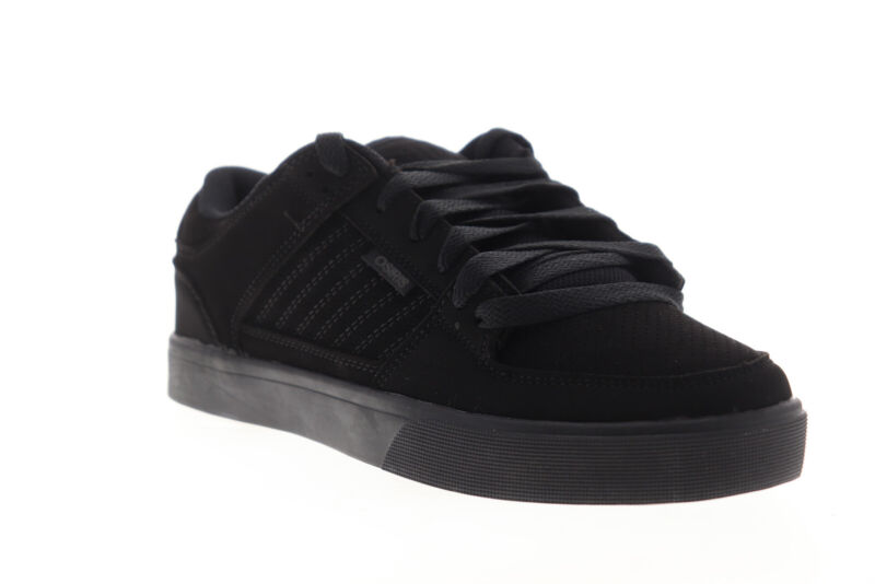Osiris Protocol 1293 2724 Mens Black Synthetic Lace Up Athletic Skate Shoes