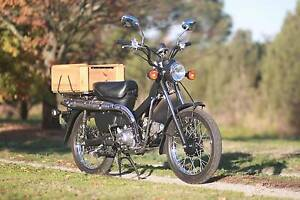 Honda CT110 Postie 'cafe racer' - low kms and registered Sale Wellington Area Preview
