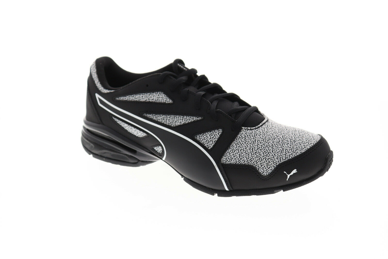 Puma Tazon Modern Pebble 19249002 Mens Black Low Top Athletic Gym Running Shoes