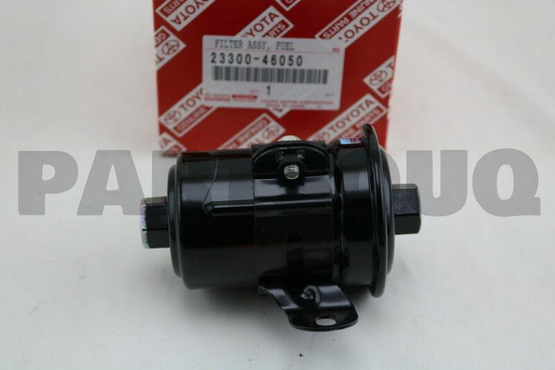 2330046050 Genuine Toyota Filter, Fuel(for Efi) 23300-46050