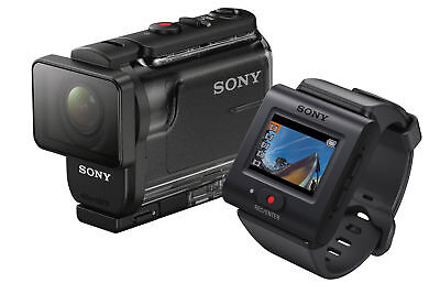Sony HDR-AS50R/B Action Cam + Live-View Remote Bundle