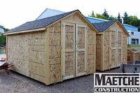 8ft x 12ft sheds ( Maetche Construction) 1200.00