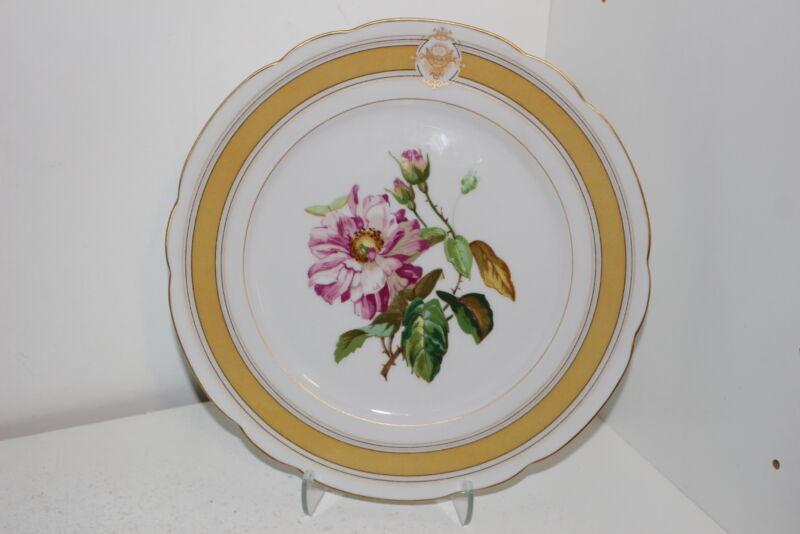Haviland Limoges France Porcelain Reproduction Plate-President Ulysses S Grant