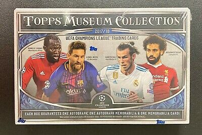 2017/18 Topps UEFA Champions League Museum Collection Soccer Box