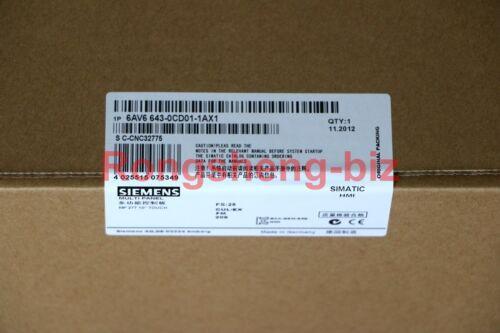 Siemens 6av6 643-0cd01-1ax1 6av6643-0cd01-1ax1 Mp 277 New In Box