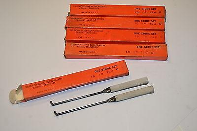5 Nos Hone Sets Superior Hone Corporation Usa 2 Hones Per Box 10 10 220 P