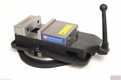 6 Angle-locking Milling Vise W Swivel Base Vertex Va-6 Made In Taiwan