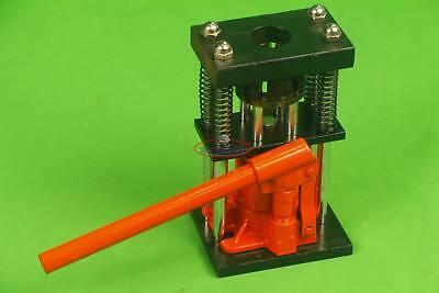 "3//8/"" to 1//2/"" H10-6 Manual Benchtop Hydraulic Bottle Jack Hose Crimper"