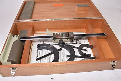Fowler Vertical-digital Electronic Height Gauge W Case Accessories