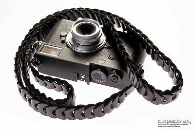 Kamera Tragegurt aus Leder im Slim Design von Rock n Roll Camera Straps | Gr.L