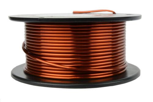 TEMCo 12 AWG Gauge Enameled Copper Magnet Wire 8oz 25ft 200C Coil Winding