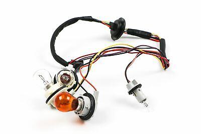 Citroen C1 14- Genuine Rear Light Lamp Wiring Loom Harness With Bulbs OEM