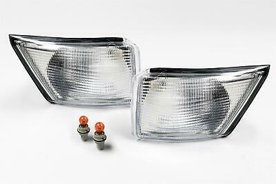 Iveco Daily Van 99-06 Clear Front Indicators Repeaters Pair Set Driver Passenger