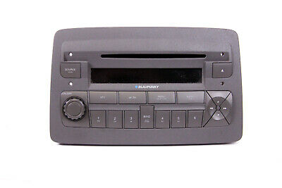FIAT Panda Autoradio CD-Radio Player Blaupunkt 7645322316 169 CD Radio + CODE  ()