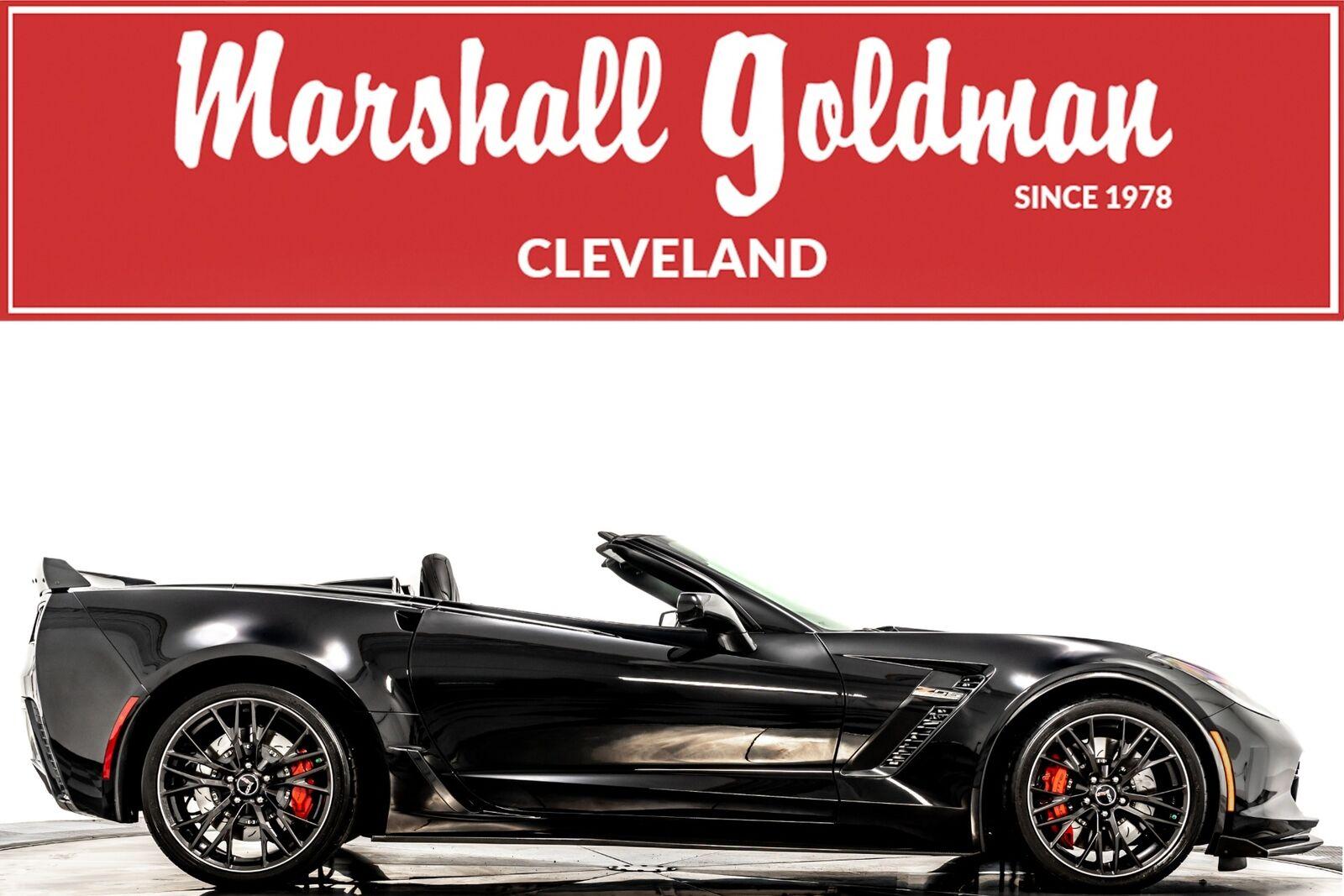 2015 Black Chevrolet Corvette Z06 3LZ   C7 Corvette Photo 1