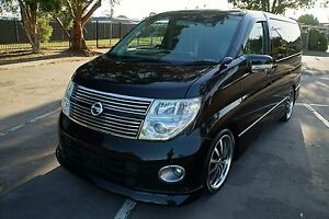 Nissan Elgrand Highway Star series 3 with 12 months Rego & RWC Springvale South Greater Dandenong Preview