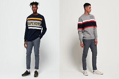Superdry Mens Applique Weekend Cut & Sew Sweatshirt