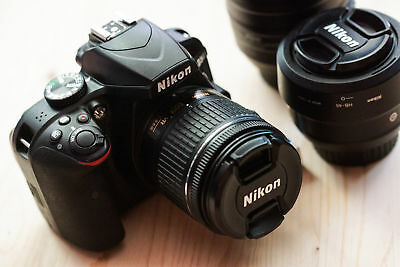 ORIGINAL Nikon D3400 AF-P 18-55mm VR Lente Kit + Cámara Digital SLR - Negro