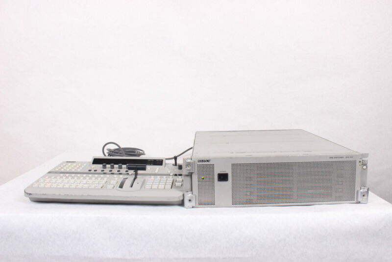 Sony DFS-700 Video Switcher & Control Panel with Case (Not Tested)