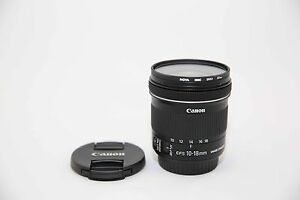 Canon Lenses EF-S 55-250,EF-S 10-18 & EF-S 60 (All or Individual) Newstead Brisbane North East Preview