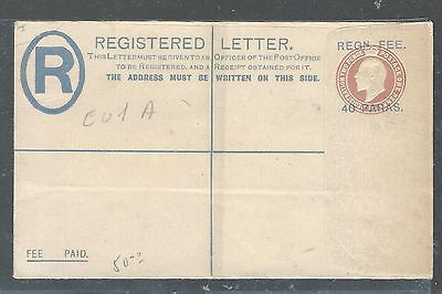 BRITISH LEVANT (P2307BB) KGV 40 PA/2D RLE MC CORQ&CO CONTRACTORS UNUSED