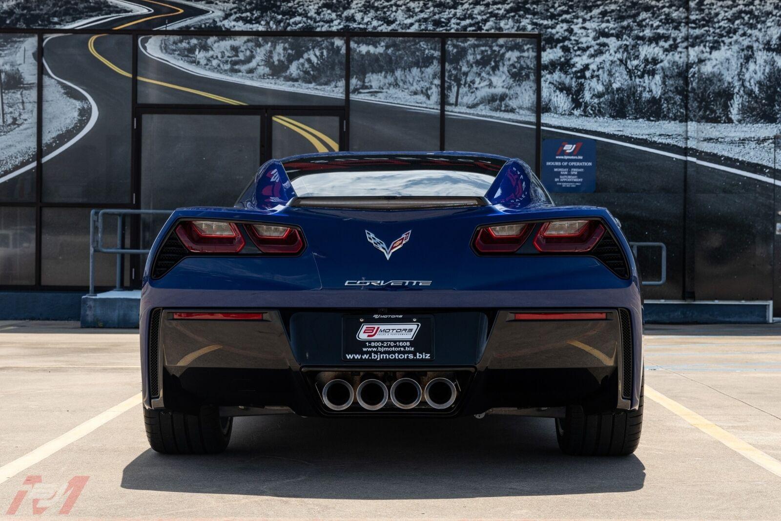 2017 Blue Chevrolet Corvette  2LT | C7 Corvette Photo 4