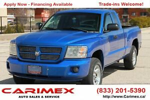 2008 Dodge Dakota SXT 4x4 | Extended Cab | CERTIFIED