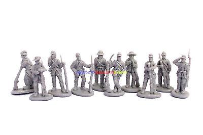 Strelets 1/72 American Civil War Confederate Soldier (10 Diff. Standing Pose)