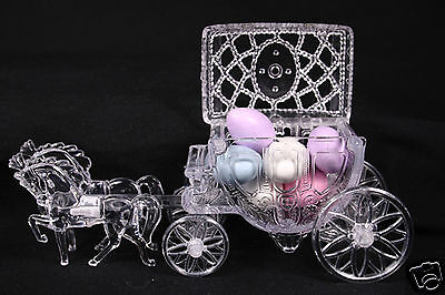 - Cinderella Horse And Carriage Coach Wedding Cake Topper Party Decoration Favor