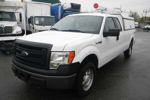 2013 Ford F-150 XL SuperCab Long Bed with Service Canopy Power I